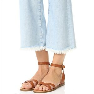 Madewell Boardwalk Ankle Wrap Sandals